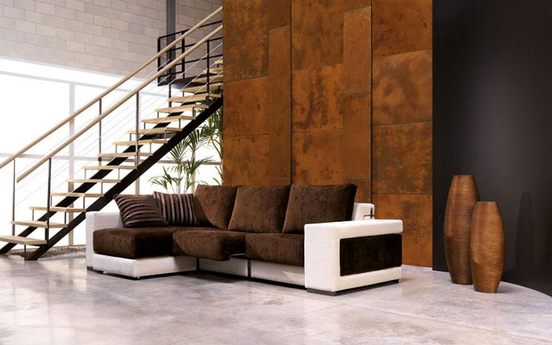 Pittura effetto corten microcemento ragusa for Vernice pareti