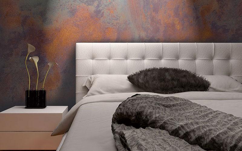 Pittura effetto corten microcemento ragusa for Pittura pareti cucina